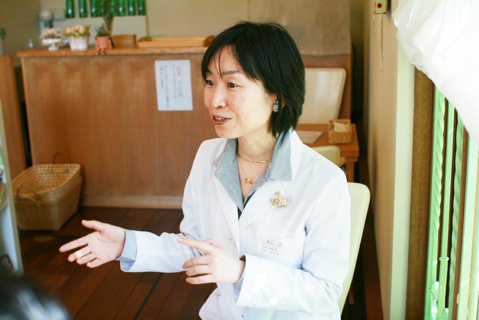 さくら恵比寿堂店主・中井麻由美さん
